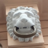 Happy Lion Knocker