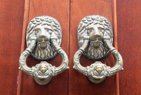 Lion Knockers