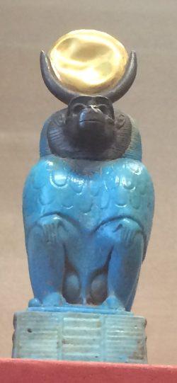 The Egyptian Baboon god of writing