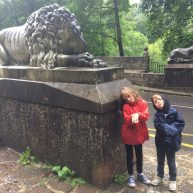 Lion faces at Covadonga
