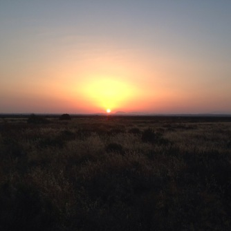 Sunrise over the Marismas