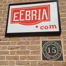EeBria sign